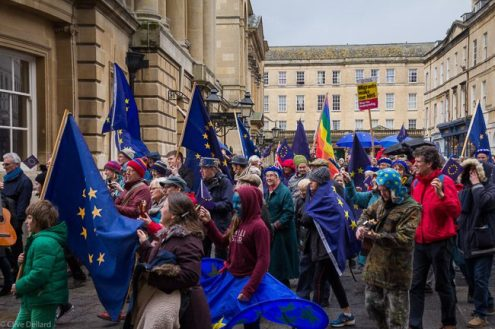 Bath's first Pulse of Europe. Photo © Clive Dellard
