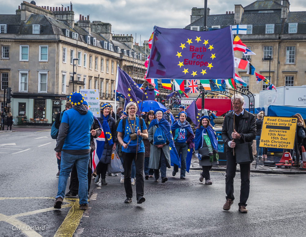 Celebrate Peace in Europe – Monthly Rally, Sunday 3rd November, 2 pm, Bath Abbey Churchyard