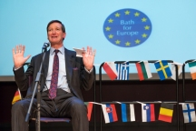 Rt Hon Dominic Grieve, QG MP speaking in Bath on 20th September. Photo © www.mickyatesphotography.com.