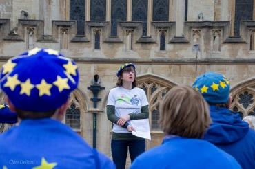 Claire Thomas, outgoing Bath for Europe Chair. Photo © Clive Dellard.