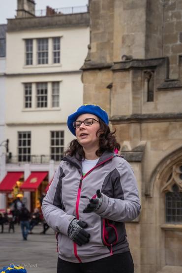 Emma Knaggs, Bath for Europe's new Chair. Photo © Clive Dellard.