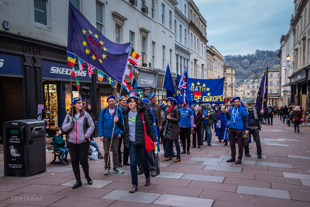 Bath for Europe Monthly Rally & March, Sunday 3rd March, 2 pm Abbey Churchyard