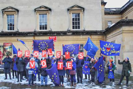 Outside the Bath Assembly Rooms. Photo © Matthew Perks.