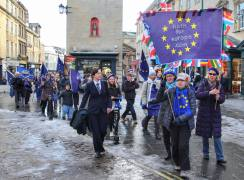 Bath for Europe monthly rally, February 2019. Photo © Matthew Perks.