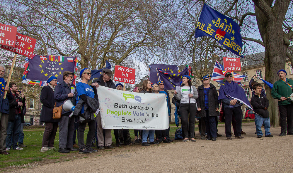 Upbeat Bath for Europe rally calls for a People's Vote