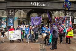 Making a statement in the centre of Bath. Photo © Clive Dellard.