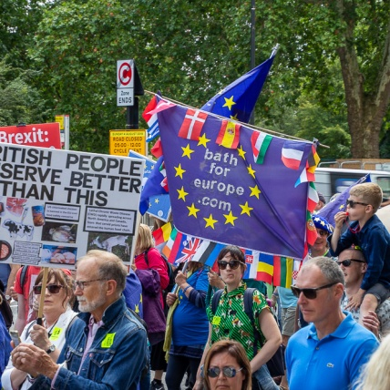 Bath for Europe on #MarchForChange, 20th July. Photo © Clive Dellard.