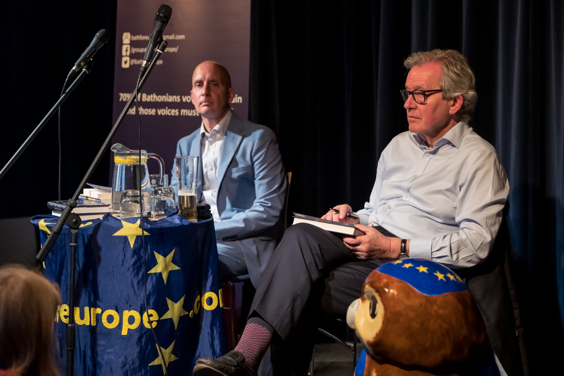 'Brexit: can it be stopped?' Stephen Dorrell and Andrew Adonis, Bath, Monday August 5th 2019.