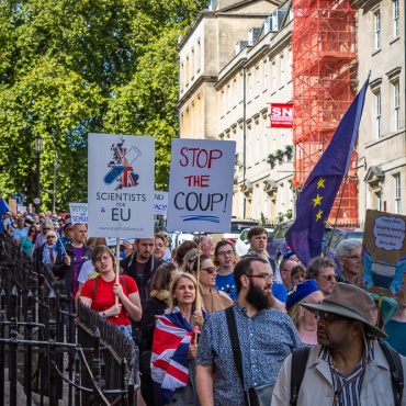 #StopTheCoup rally. Photo © Clive Dellard.