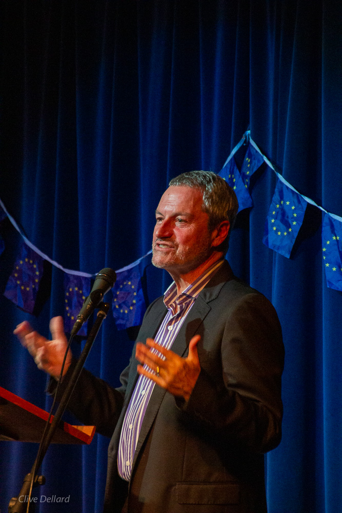 Brexit without the bulls**t: Gavin Esler in Bath